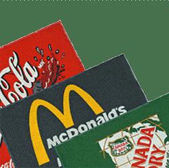 Tapetes promocionales y tapetes con logotipos